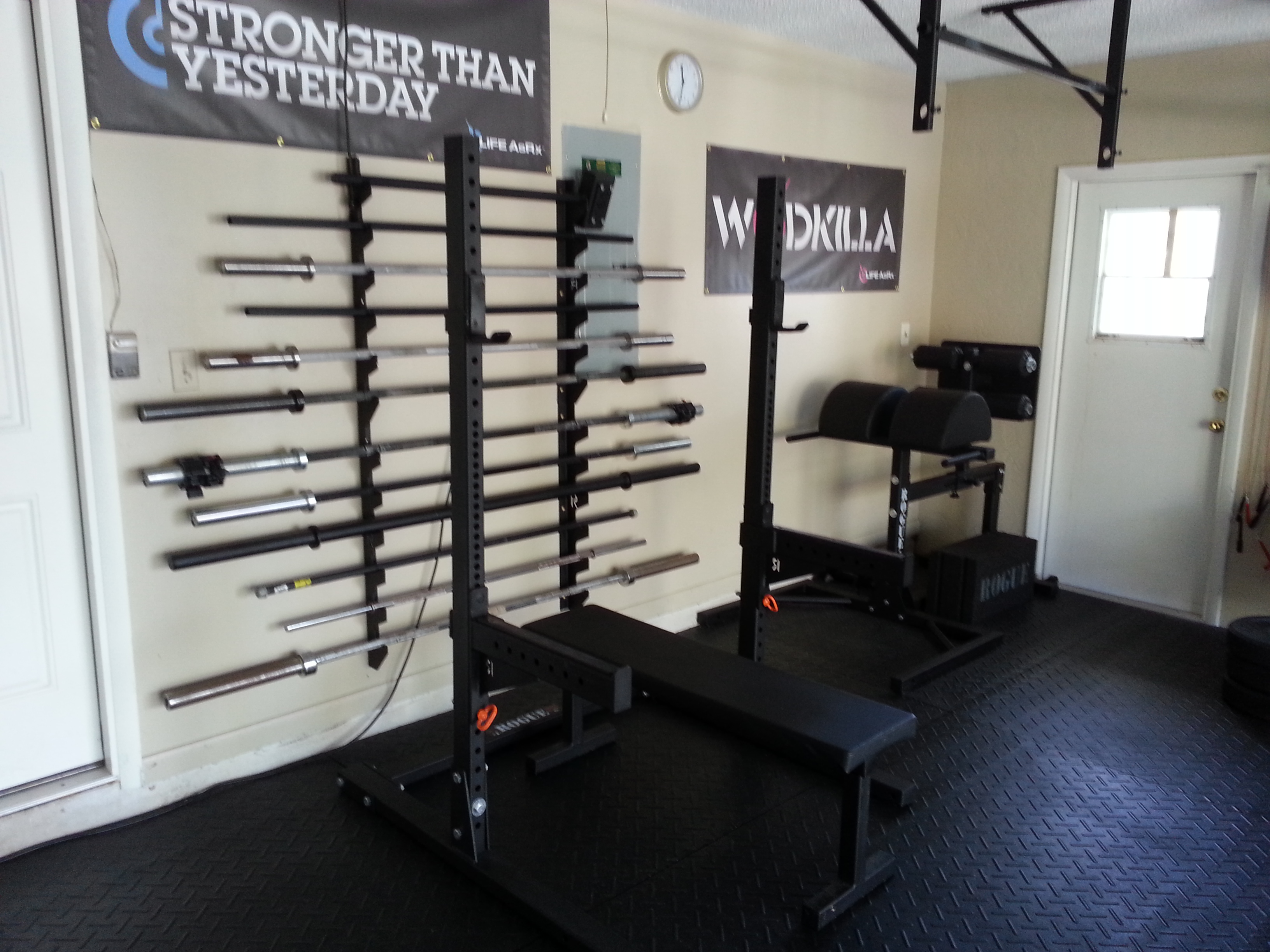 Diy garage gym ideas www.marnicks.com