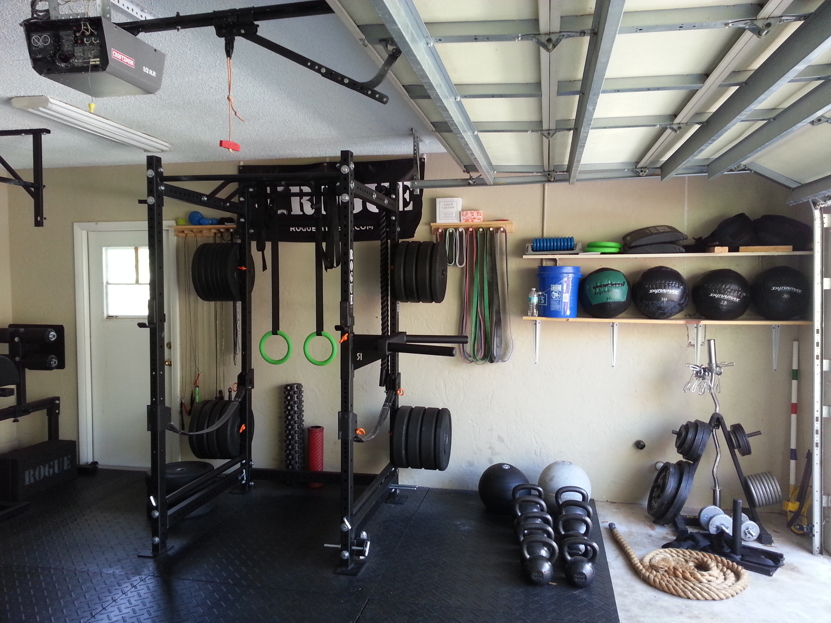 How to build an epic garage gym!!! my journey rx